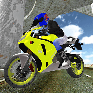 Motorcycle Jump Cop Car Chase