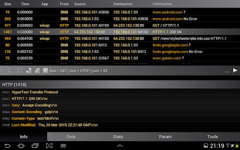 Wi.cap. Network sniffer Pro v1.4.1