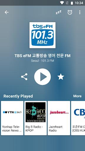 ub77cub514uc624 ud55cuad6d FM | Radio Korea FM 8.4 screenshots 2