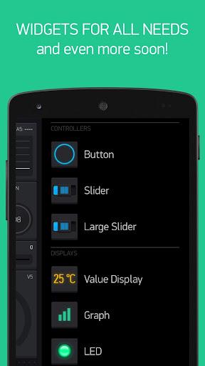 Blynk - IoT for Arduino, ESP8266/32, Raspberry Pi screenshot 4