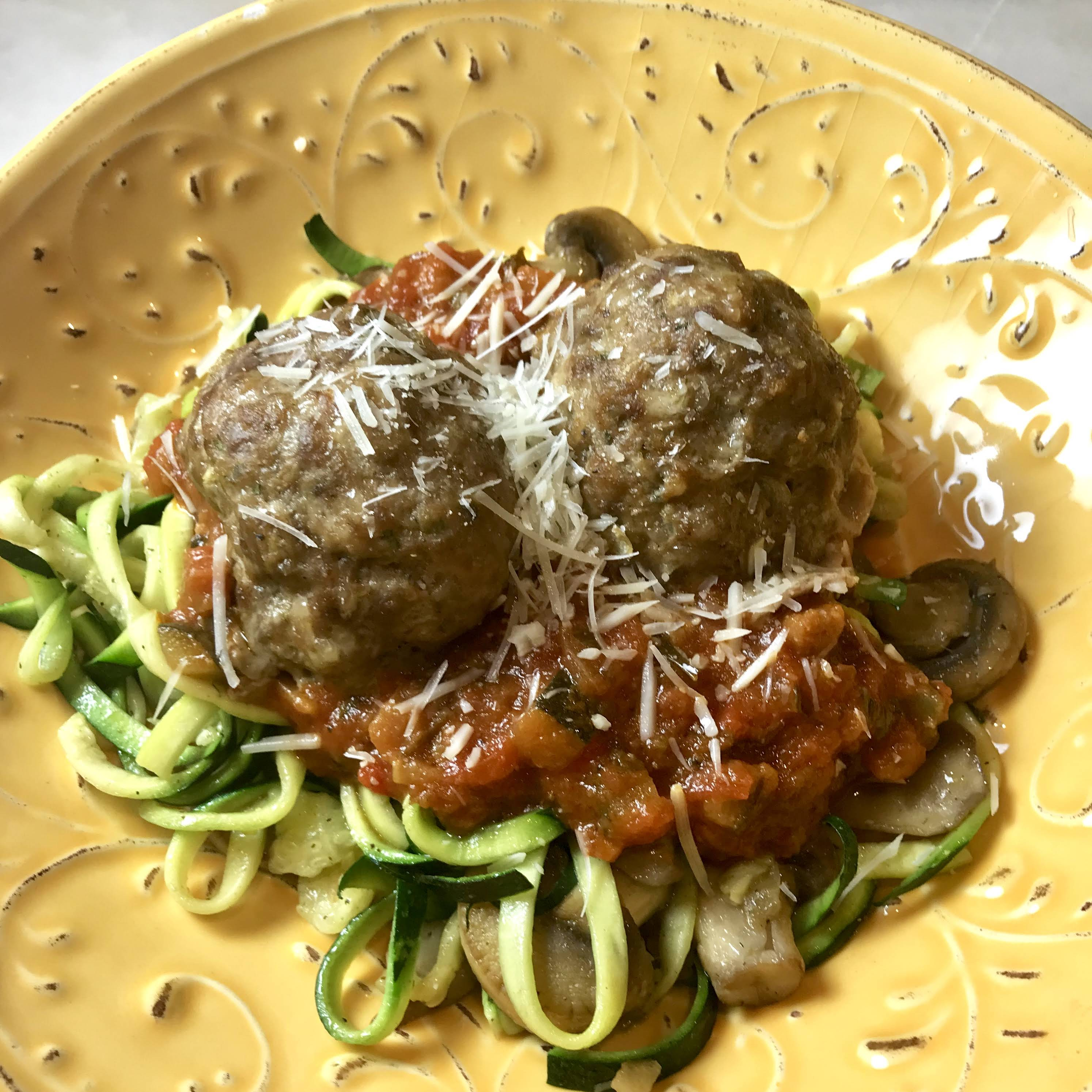Meatballs for Three  alternative Dinners #SundaySupper