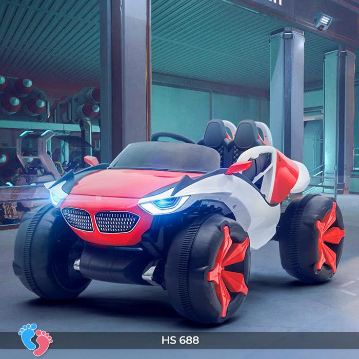 Xe ô tô điện địa hình cho bé hs-688 14