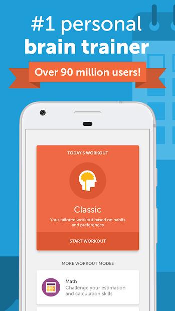 Lumosity: #1 Brain Games & Cognitive Training App Android App Screenshot