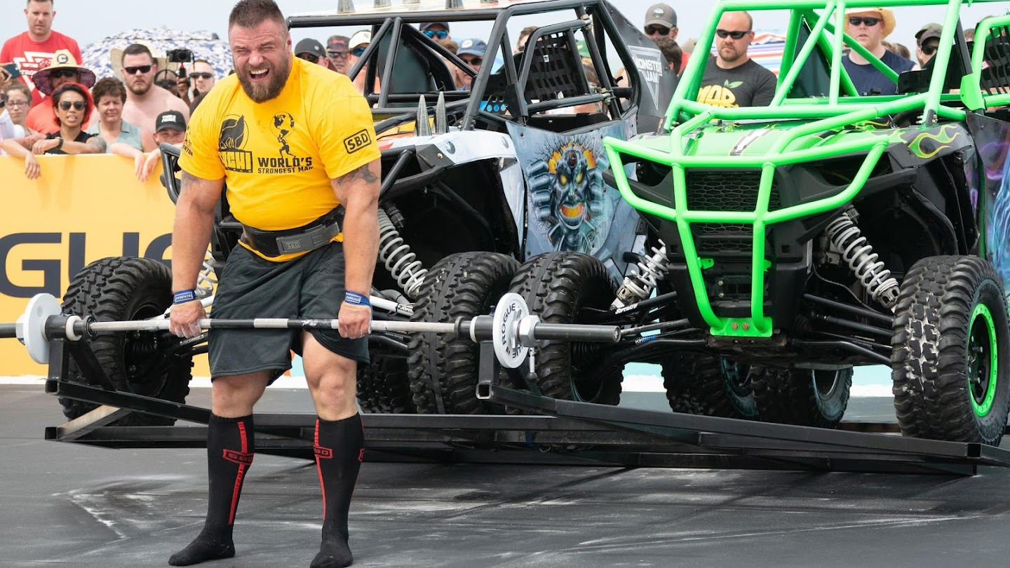 The 2019 Tachi Palace World's Strongest Man Competition