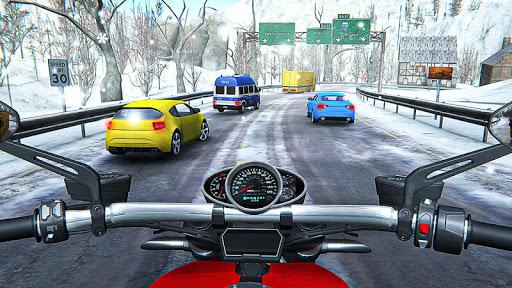 Racing In Moto Traffic Stunt Race 1.14 screenshots 11