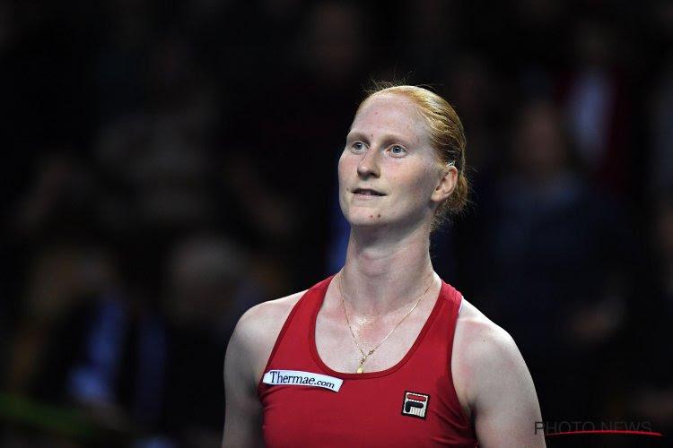 Van Uytvanck verovert vijfde WTA-titel bij vijfde matchbal