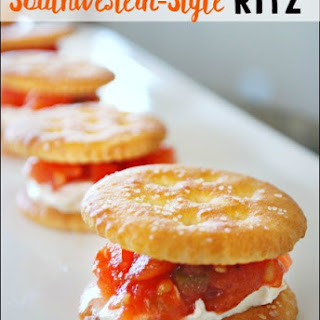 Simple Snack Ideas - Southwestern Style RITZ