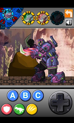 Transform! Dino Robot - Mammoth 1.0.0 screenshots 6