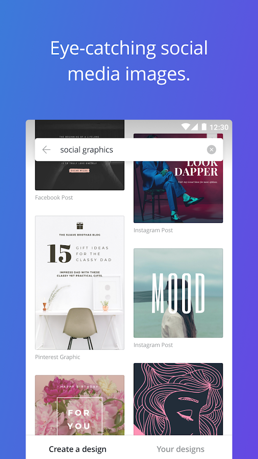 canva free photo editor amp graphic design tool android