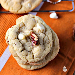 White Chocolate Pecan Cookies.