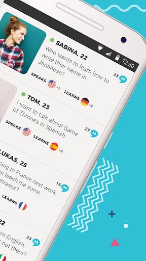 Tandem Language Exchange: Speak any language 1.7.7 screenshots 2