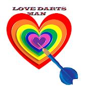 Love Darts Man