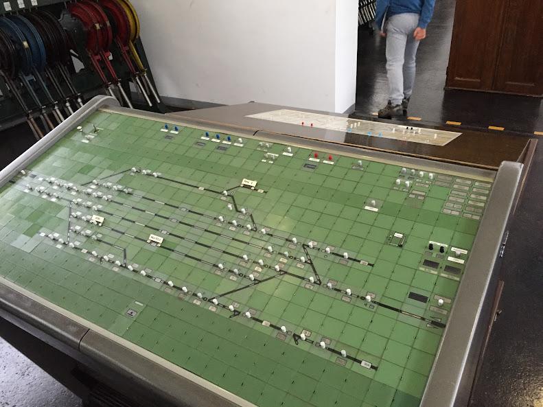 リュブリャナ 鉄道博物館 列車運行管理システム