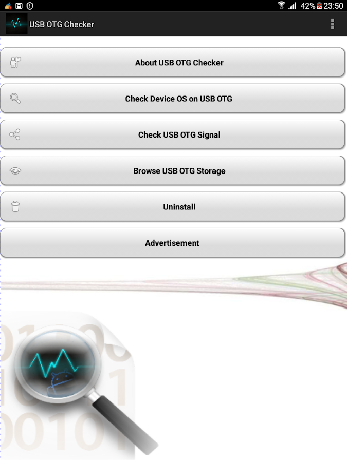 USB OTG Checker – Screenshot