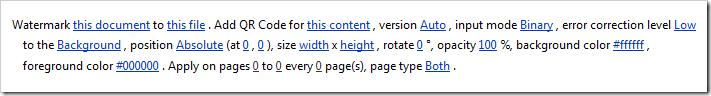 QR Code in SharePoint Designer