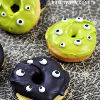 Monster Eyes Halloween Donuts Recipe