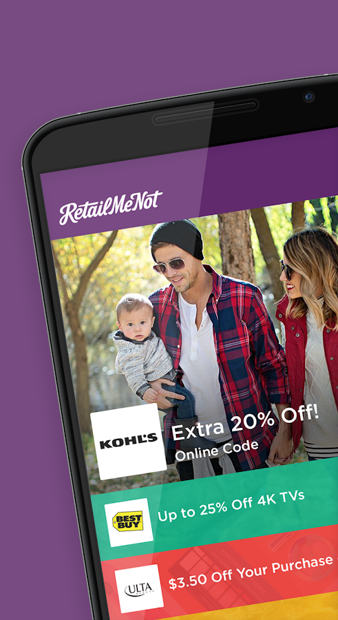 RetailMeNot Coupons, Discounts- screenshot