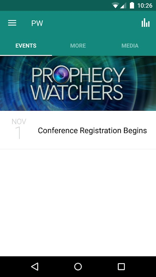 Prophecy Watchers TV- screenshot