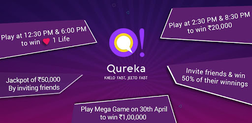 Download Qureka: Play Live Trivia Game Show Win Cash for PC