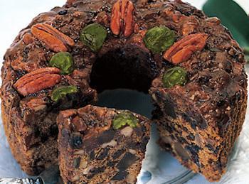 Dark Fruitcake Recipe