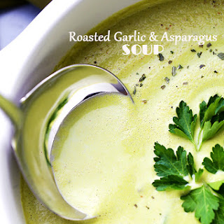 Roasted Garlic Asparagus Soup Recipes