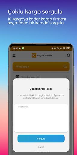 Kargom Nerede - Kargo Takip screenshot 7