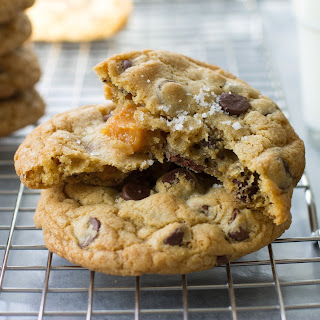 Salted Caramel Chocolate Chip Cookies.