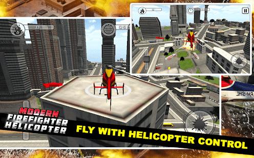 Moderní Hasič Helicopter - náhled