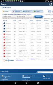 Newark Airport +Flight Tracker screenshot 5
