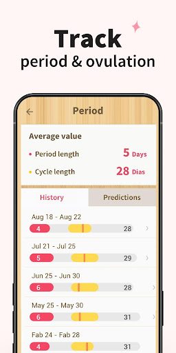 Period Tracker - Period Calendar Ovulation Tracker 1.713.216.GP Screenshots 6