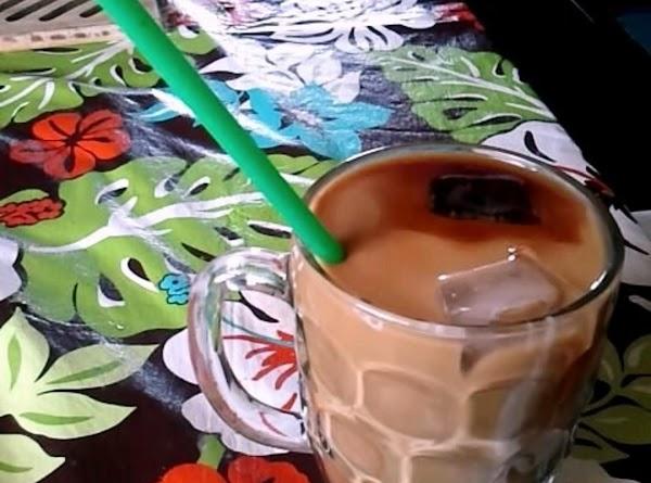 Creamy Iced Hazelnut Coffee Recipe