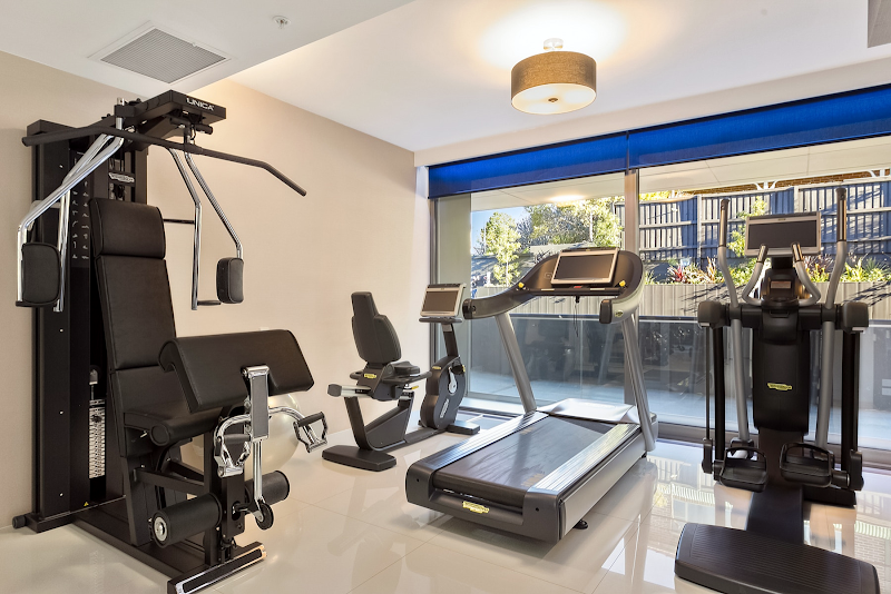 Gym at Brook Street suites in North Shore, Sydney