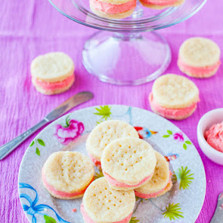 Buttery Sugar Wafer Sandwich Cookies.