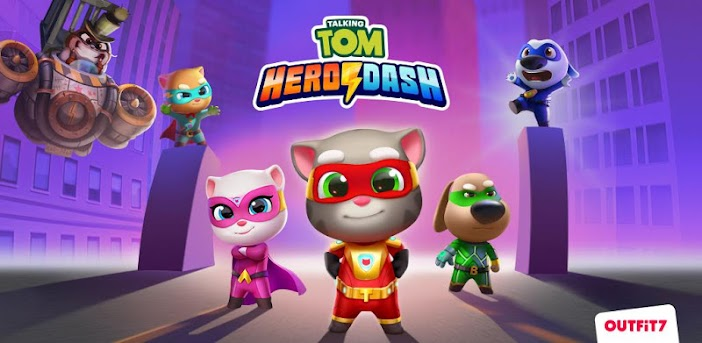 How To Download And Play Talking Tom Hero Dash On Pc For Free