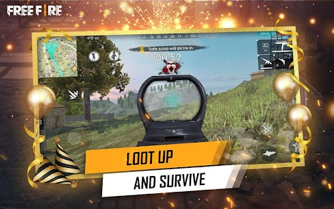 Garena Free Fire Mod Apk v1.39.0 (Unlimited Diamonds And Coins) 5