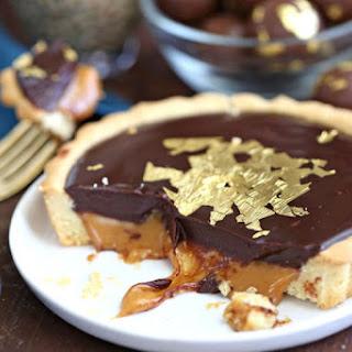 Baileys Chocolate Caramel Tarts.