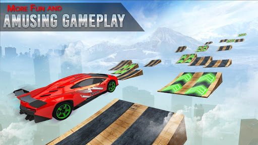 Mega Ramp Race - Extreme Car Racing New Games 2020 apkmind screenshots 6