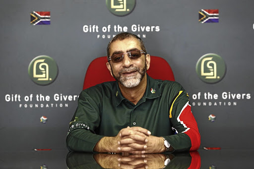 Imtiaz Sooliman, founder of Gift of the Givers, says the organisation has put aside R5m from its emergency reserves to help in the fight against coronavirus.
