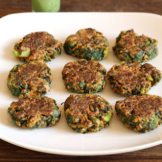 Fat-Free Spinach Broccoli Patties