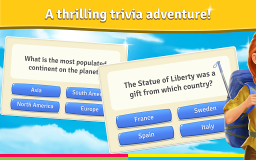 Backpackeru2122 - Trivia Travels 1.8.2 screenshots 6