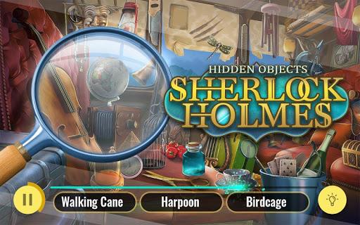 Sherlock Holmes Hidden Objects Detective Game 3.01 screenshots 1