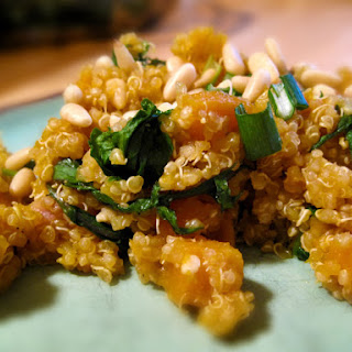 Butternut Squash with Lemon Quinoa