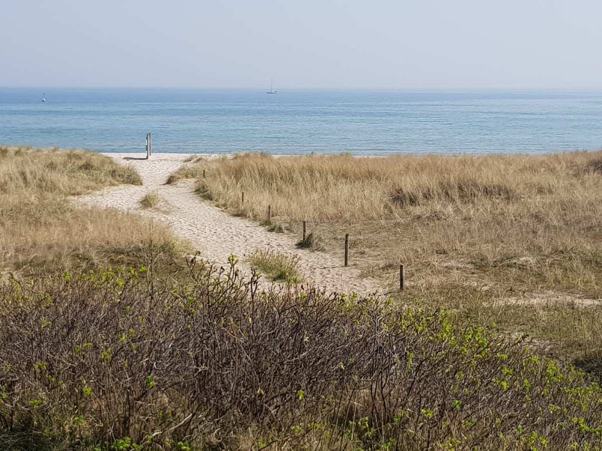 Strandzugang zum Weidefelder Strand