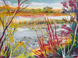 Photo: Loxahatchee Morning / acrylic by Stan Dornfest