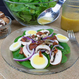 Easy Spinach Salad.