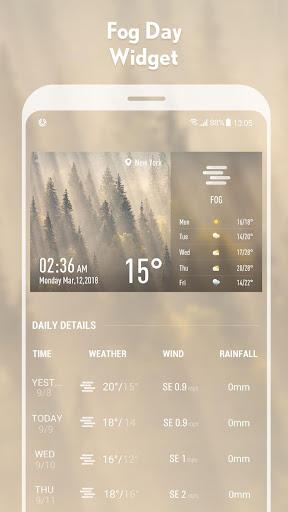 5-day Weather forecast &weather widget 10.3.5.2353 screenshots 3