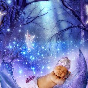 Sleeping Beauty... by Emanuel Correia - Digital Art People ( photo baby sleep )