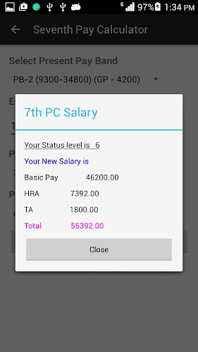 7th Pay Calculator