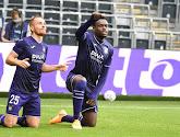 Franky Vercauteren et Adrien Trebel après Anderlecht-STVV