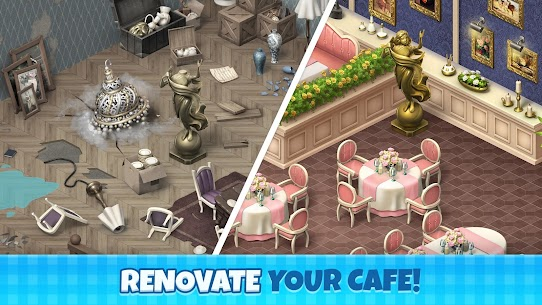 Manor Cafe MOD Apk 1.83.8 (Unlimited Money) 1